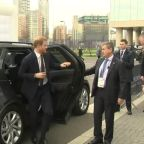 Prince Harry arrives at Africa Investment Summit in London