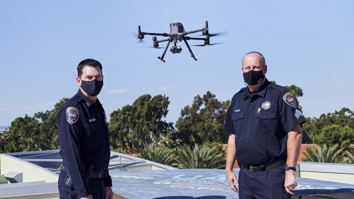 Police drones are starting to think for themselves