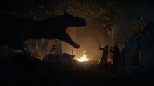 Dinosaurs run amok in the new 'Jurassic World' short film 'Battle at Big Rock' that dropped while you were sleeping