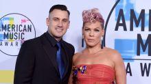 Pinks Ehemann Carey Hart droht, Plünderer zu erschießen