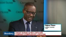 Credit Suisse CEO Thiam on Earnings, New Asset Growth