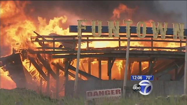 Residents, business owners vow to rebuild after fire