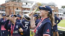 Anya Shrubsole takes six wickets as England win World Cup after dramatic India collapse