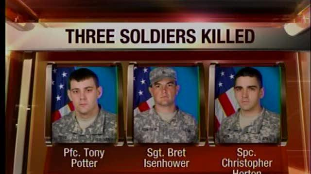 Three Okla. Soldiers Killed in Afghanistan
