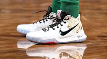 Kyrie Irving pays tribute to his late mom with special edition sneakers