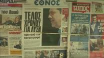 Greeks nervous on day of euro zone negotiations