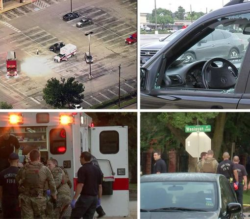Disgruntled lawyer injures 9 in Houston shooting, police say; officers kill gunman