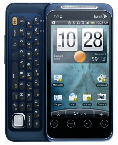 Sprint trots out HTC EVO Shift 4G and new 3G / 4G MiFi from Novatel