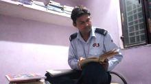 JNU security guard cracks varsity's entrance exam, aspires to be an IAS officer