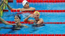 Aussie teen 'Terminator' Titmus sets swimming world record