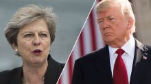 Tweet row between Theresa May and Donald Trump intensifies as Government refuses to cancel state visit