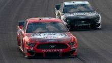 Aric Almirola drives No. 10 Ford Mustang to sixth-place finish at Kansas Speedway