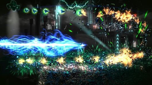 Resogun co-op trailer has twice the ships, twice the explosions
