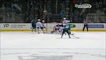 Thornton wins the draw and sets up Boyle