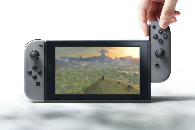 The Nintendo Switch costs $300