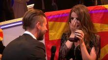 La petición de matrimonio en la semifinal de Eurovisión que España no emitió