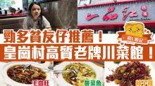 【深圳美食】皇崗村高質老牌川菜館!一品紅川菜:酸菜魚+水煮魚+口水雞