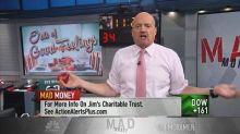 Cramer: The market's 'era of good feelings' is lifting st...