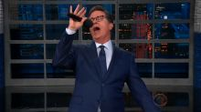 Stephen Colbert's Trumped-up version of 'My Way'