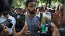 Umar Khalid: India student leader arrested over Delhi riots