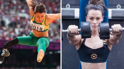 Kelly Cartwright quits athletics for powerlifting
