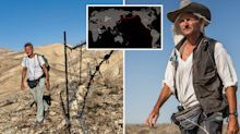 'Pity the merely rich': Why this man has walked 16,000km around the world for seven years