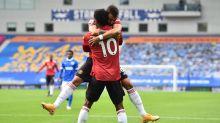 El United vence en el descuento a un Brighton que disparó cinco veces al palo
