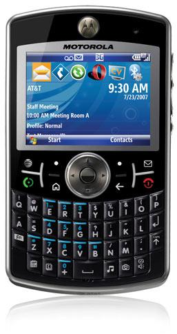 Motorola Q Global makes surprise, unorderable cameo on AT&T site