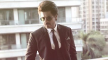 Shah Rukh Khan suits up for an event in the city