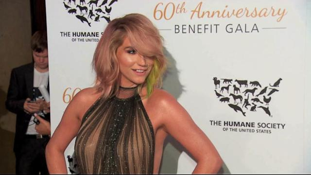 Kesha Shines After Rehab Stint