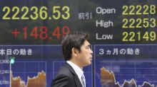 Global shares advance as US bond yields push dollar higher