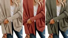 Amazon Shoppers Are Calling This $26 Cardigan 'the Perfect Fall Sweater'