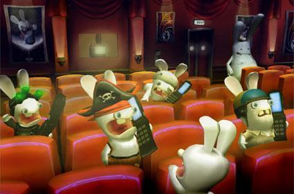 Raving Rabbids 2 ravaging Nintendo systems exclusively