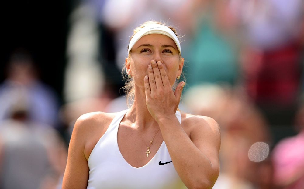 Maria Sharapova makes her comeback on Wednesday - PA