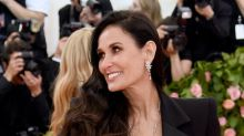 Demi Moore, 56, stuns in plunging black gown at Met Gala 2019: 'She looks freaking amazing'