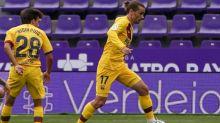 Dembélé e Griezmann voltam a treinar com o Barcelona