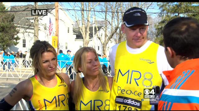 Members Of Team MR8 Reflect On What Boston Marathon Will Mean To Them