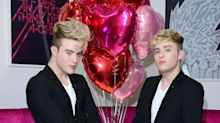Jedward suggest fans use JK Rowling book as firewood as they wade into trans row