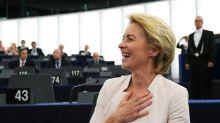 MEPs narrowly elect von der Leyen to EU top job