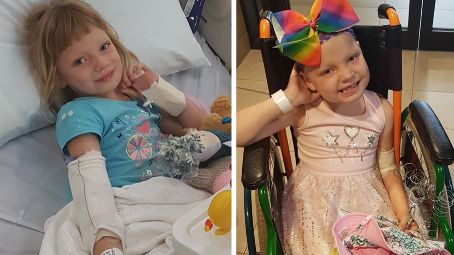 Girl diagnosed with leukaemia after told lump was 'dental issue'