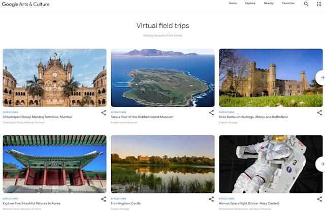 Google's 360-degree tours will live on in the Arts & Culture app