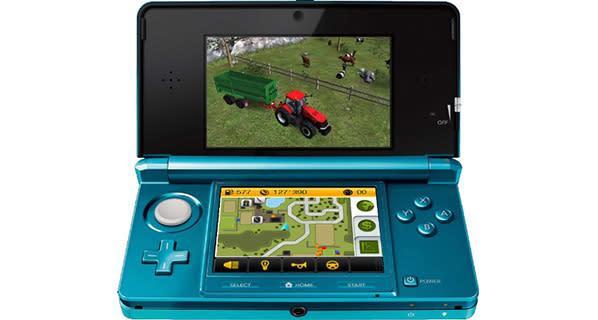 Farming Simulator 14 plants crops on Vita, 3DS in June