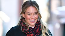 Hilary Duff just wore the coziest pair of eco-friendly sneakers — and we're obsessed
