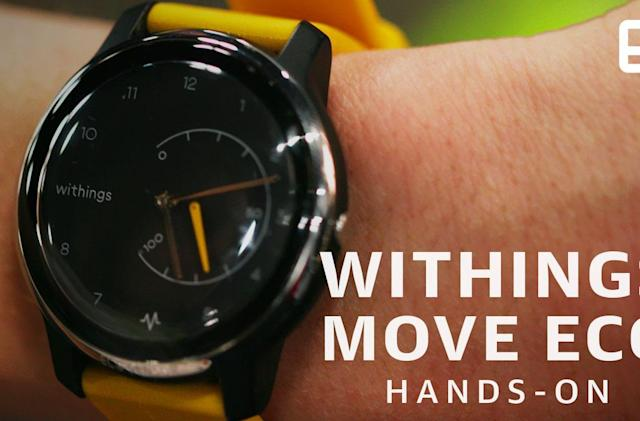 Withings' latest fitness watch has a built-in ECG