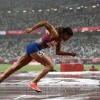 McLaughlin chases hurdles record, Brown makes Olympic bow