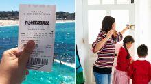 'Never again': The household chore $107m Powerball winner refuses to do