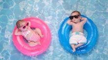 I bambini devono indossare gli occhiali in spiaggia?