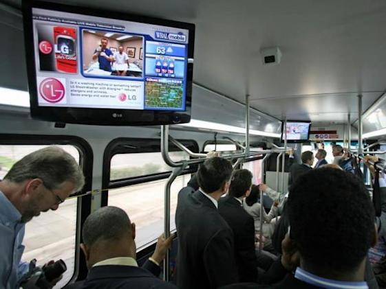 Raleigh, North Carolina buses get on-board DTV