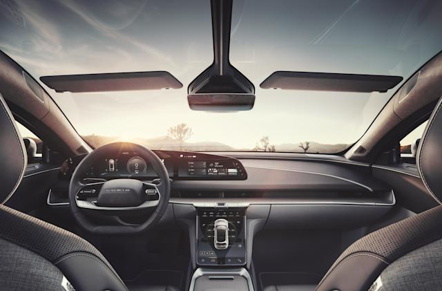 The Lucid Air EV will be the first car equipped with Dolby Atmos