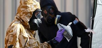 Suspects in Novichok poisoning identified?
